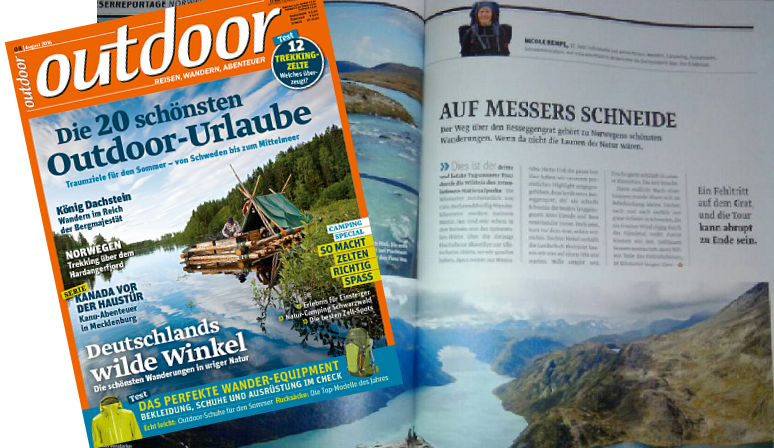 outdoor-Magazin 08/2016